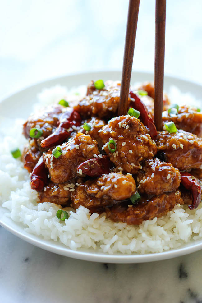 Lighter General Tso S Chicken Damn Delicious