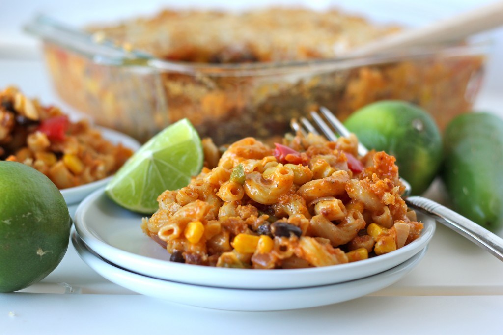 Chorizo Mac and Cheese - A fun tex-mex twist on the traditional mac and cheese that the whole family will love!