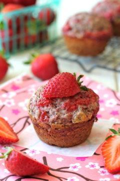 Strawberry Jam Poppyseed Muffins