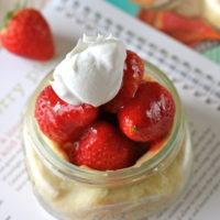 Individual Strawberry Pie