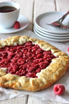 Raspberry Galette
