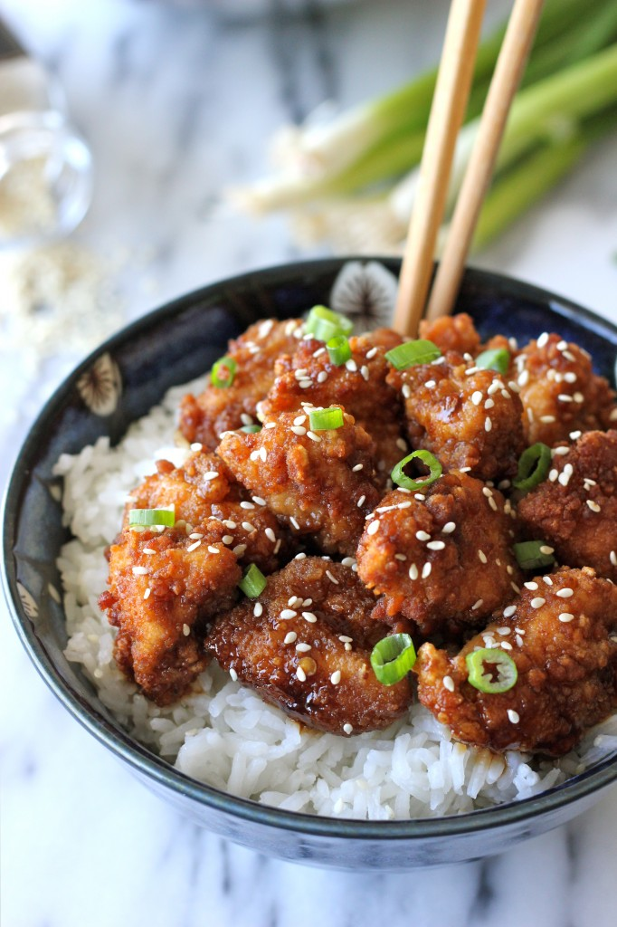 Sesame chicken damn delicious sesame chicken skip the take out and try this easy dish right at home forumfinder Images