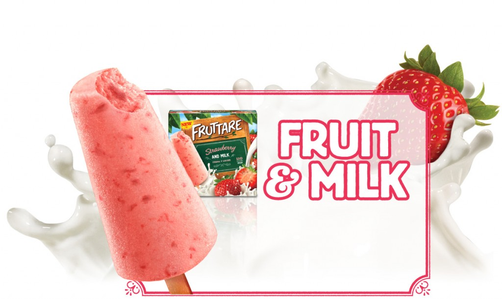 Fruttare Fruit Bars - A new line of delicious frozen fruit bars bursting with real fruit taste!