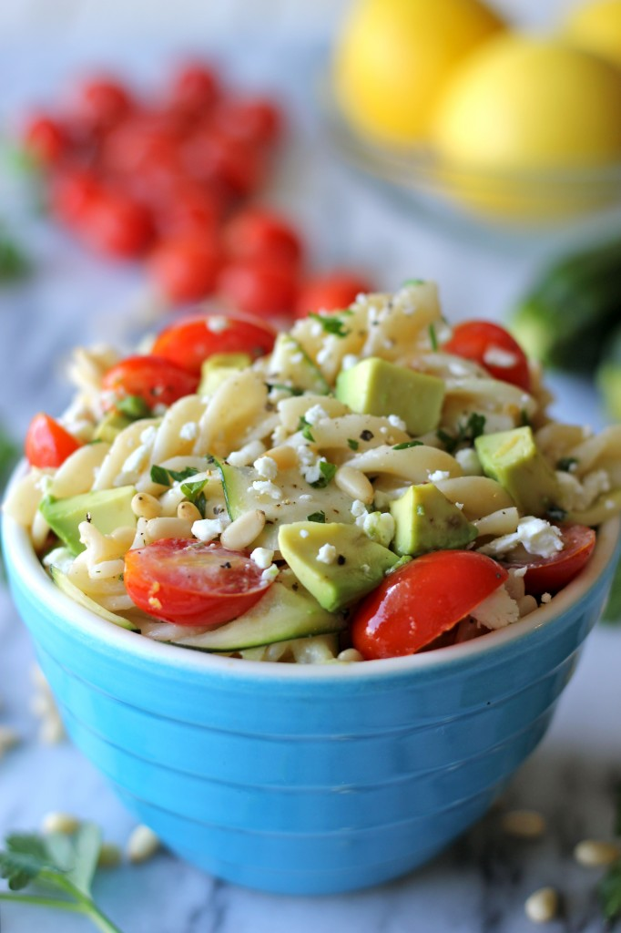 Zucchini Ribbon Pasta - With spring upon us, it's time to pack in our fresh veggies with this pasta - perfect for Meatless Monday!
