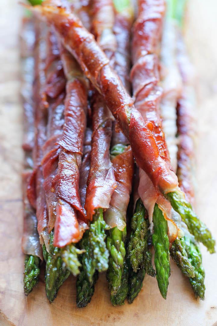 7 Easy Prosciutto Recipes Worth Sharing - Prosciutto Wrapped Asparagus