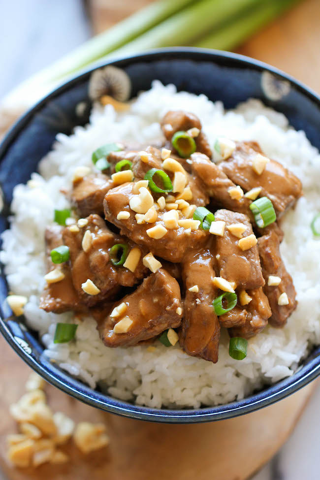 Thai Peanut Beef - Skip the take-out tonight and try this unbelievably easy 20-minute dish that the whole family will love!