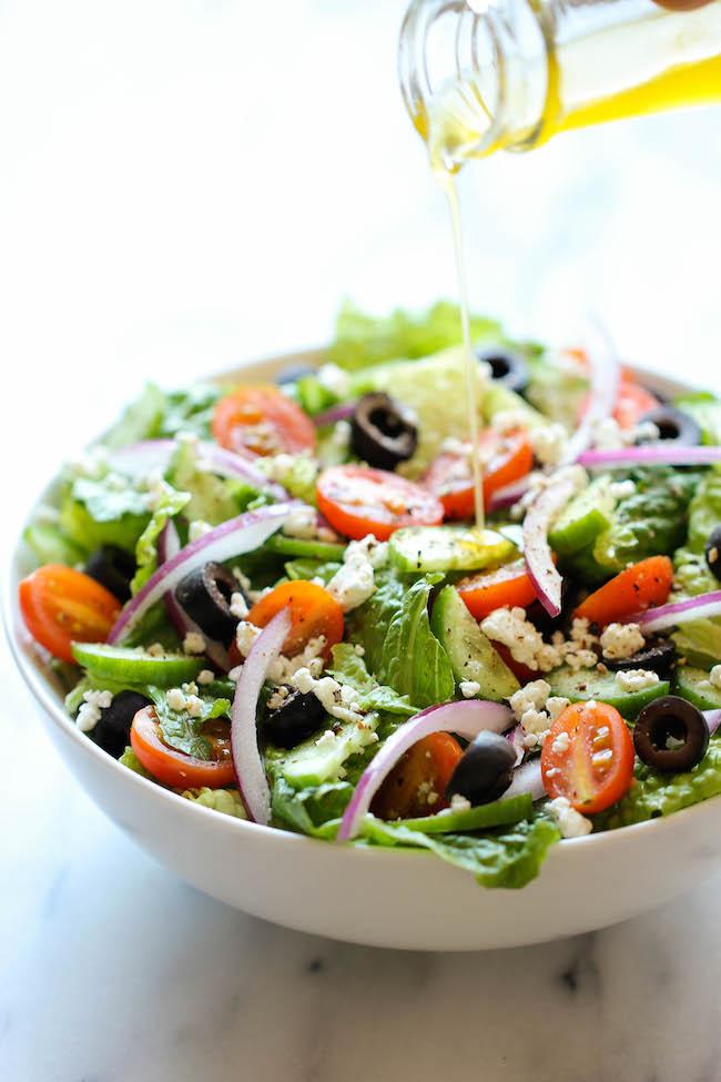 Greek Salad Lunch Recipe