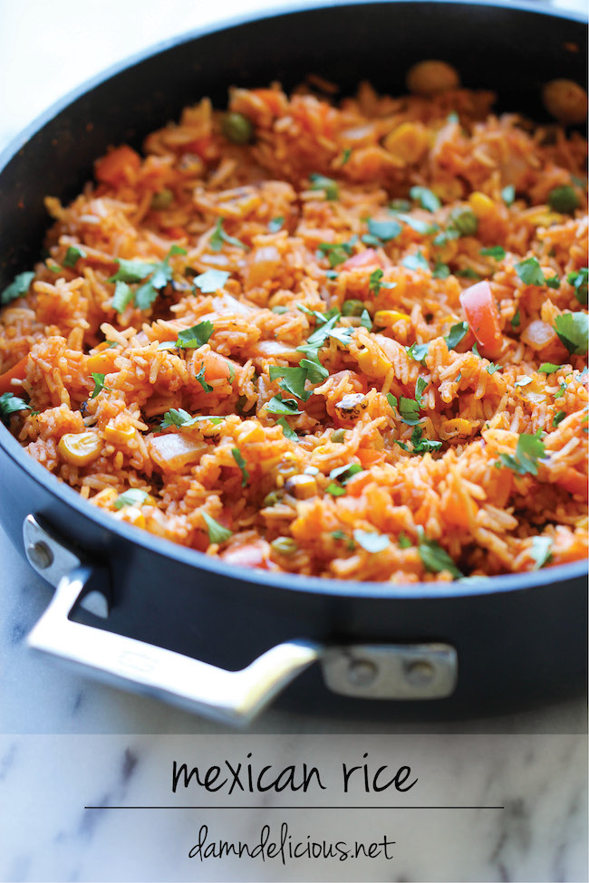 Mexican rice damn delicious mexican rice forumfinder Image collections