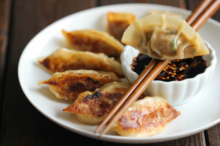 Pot stickers asian grocery rather valuable