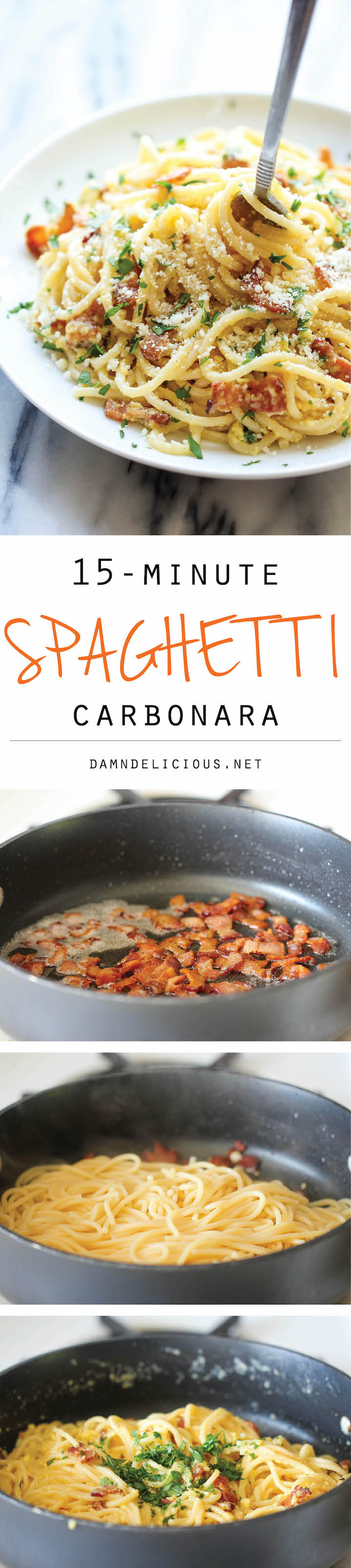 Spaghetti Carbonara Damn Delicious Signature Male White Hd Red The Easiest Pasta Dish You Will Ever Make With Just 5 Ingredients In