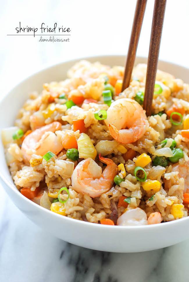 Shrimp fried rice damn delicious shrimp fried rice ccuart Choice Image
