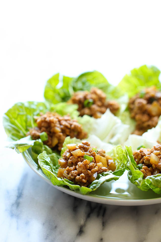 PF Chang's Chicken Lettuce Wraps - A copycat recipe that you can easily make right at home in just 20 minutes. And it tastes a million times better too!