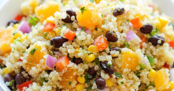 Black Bean Quinoa Salad Damn Delicious