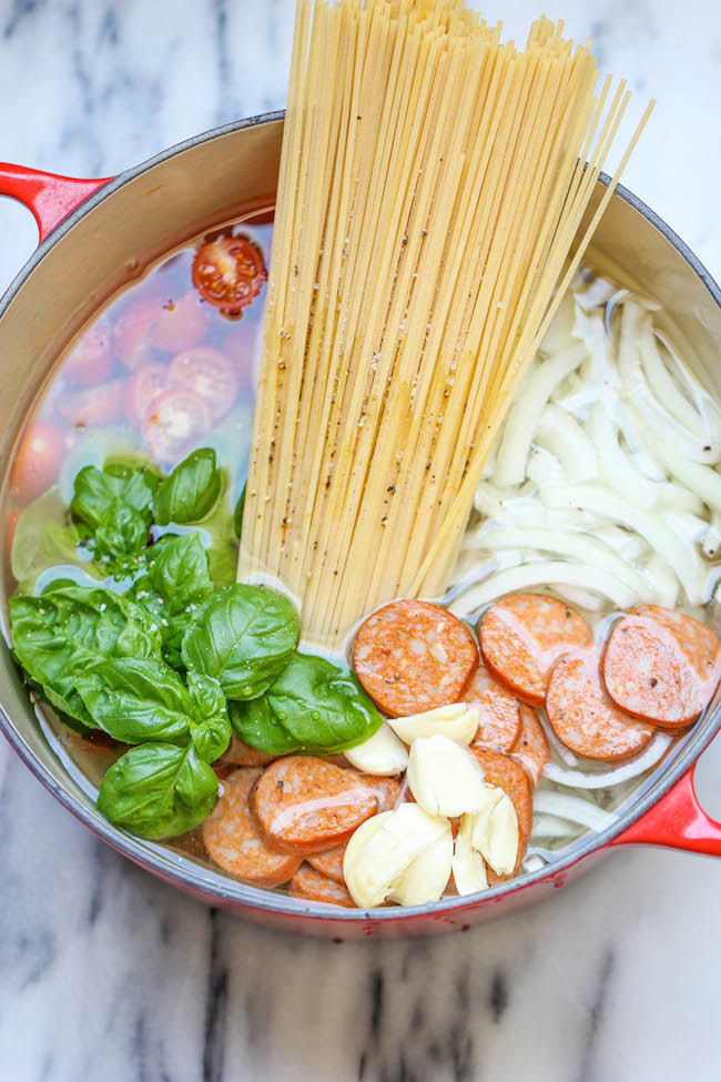 10 quick and easy one pot meals damn delicious one pot pasta the easiest most amazing pasta you will ever make even forumfinder Images