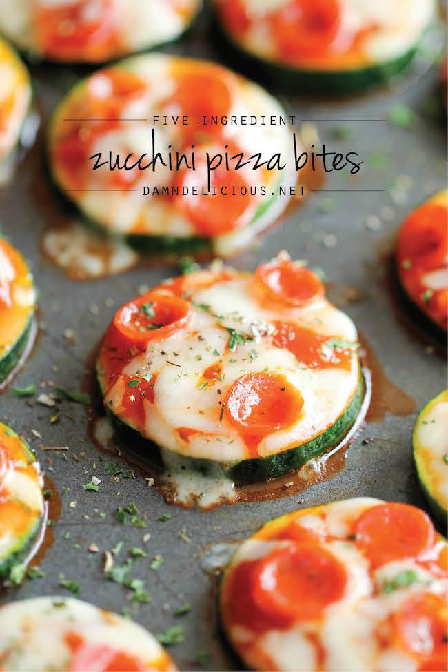 Low carb rezepte zucchini pizza