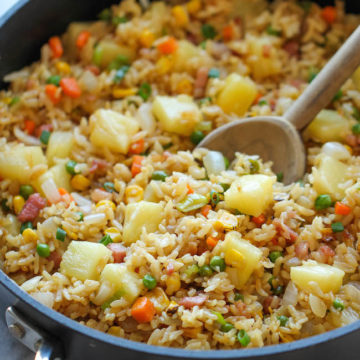 Pineapple Fried Rice Damn Delicious