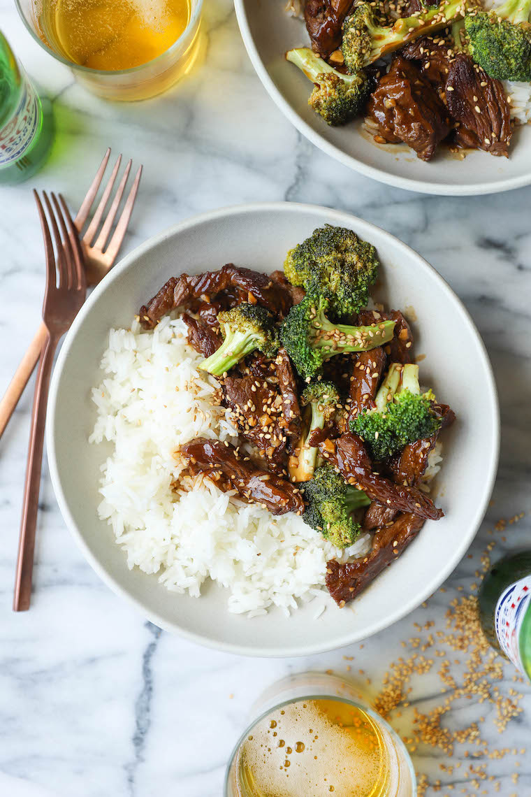 Easy Beef And Broccoli Damn Delicious