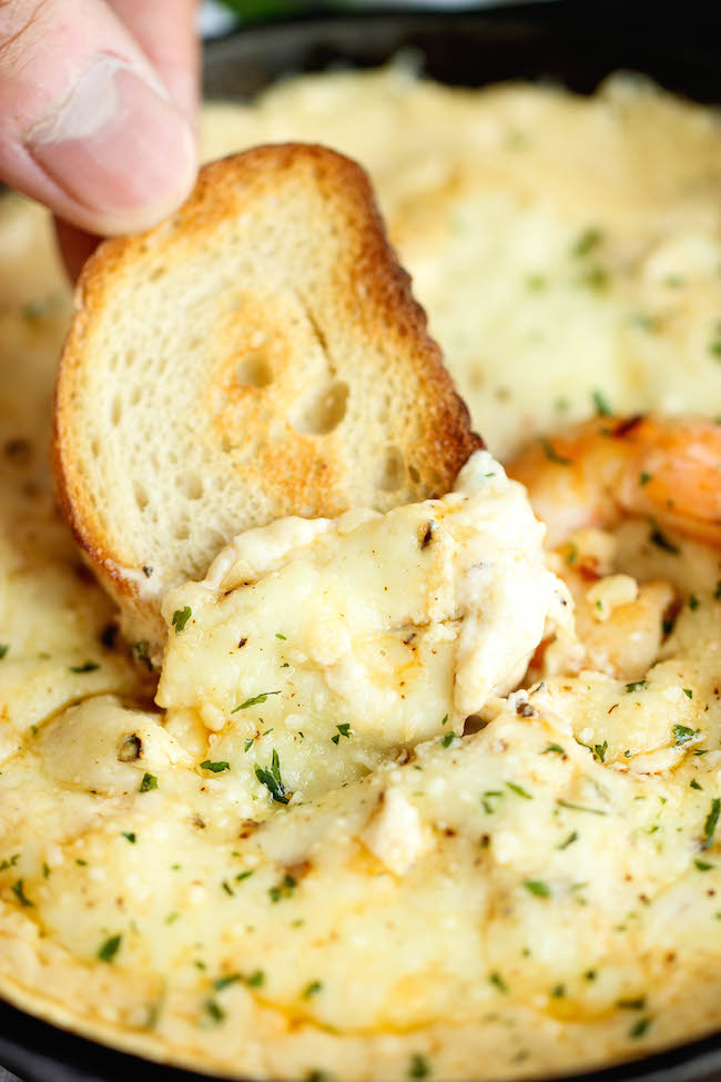10 best party dip recipes damn delicious shrimp scampi dip one of the best and easiest dips ive forumfinder Image collections