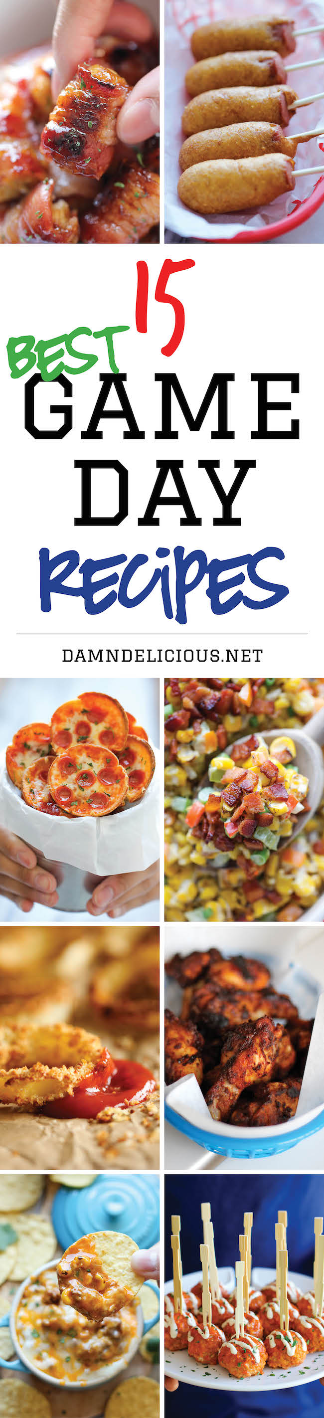 15 best game day recipes damn delicious 15 best game day recipes forumfinder Gallery