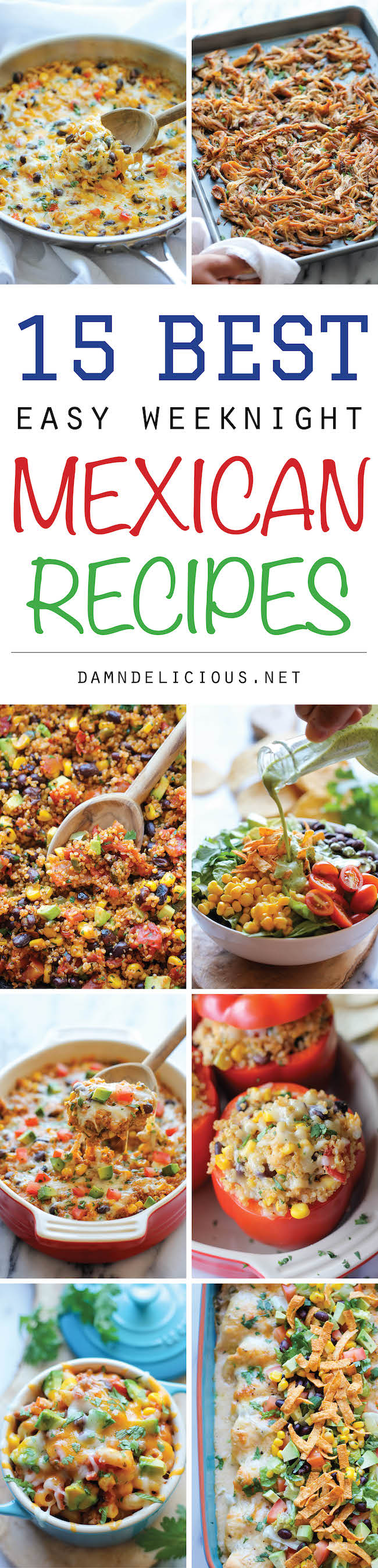 15 best easy weeknight mexican recipes damn delicious 15 best easy weeknight mexican recipes the best quick and easy mexican weeknight forumfinder Choice Image