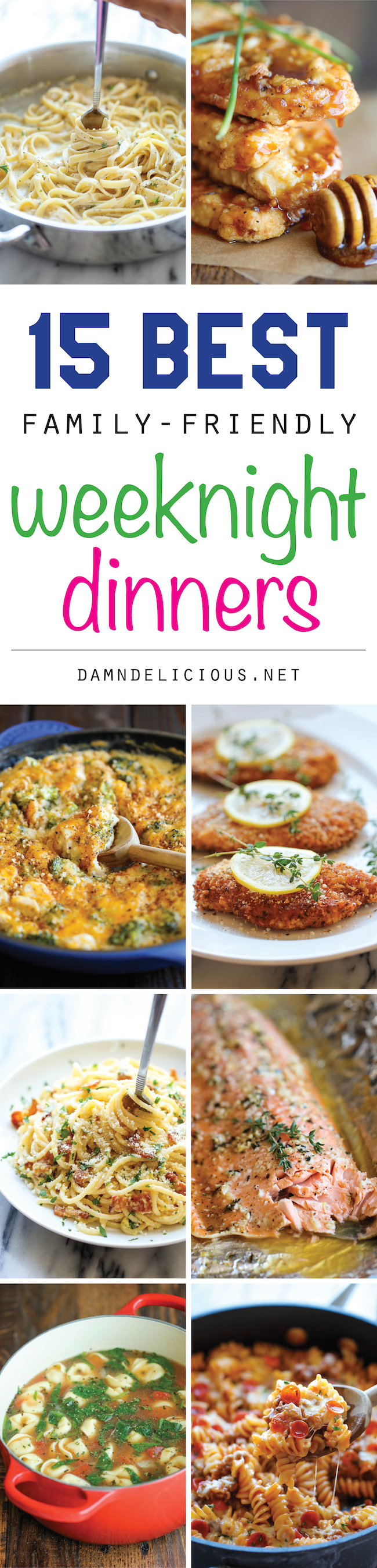 15 Best Family Friendly Weeknight Dinners Damn Delicious