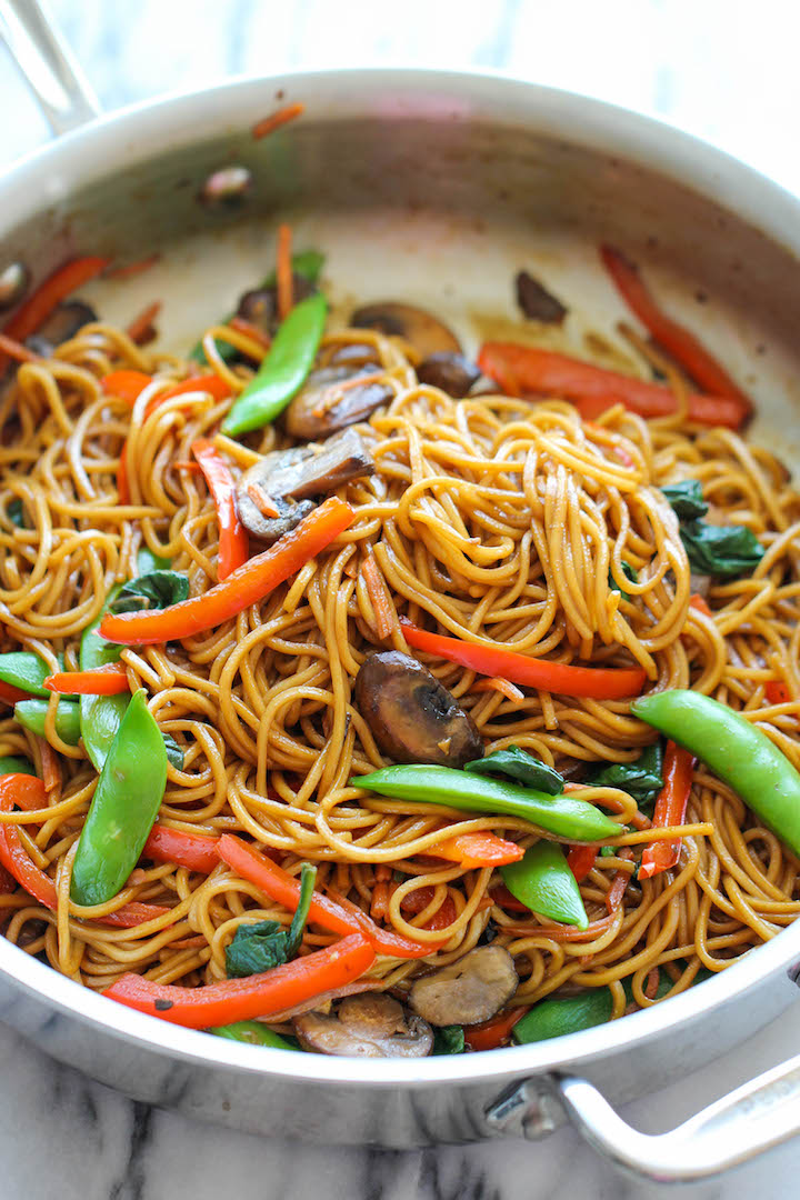 Easy lo mein damn delicious but surely enough theres a homemade lo mein version that can be made in just 15 minutes from start to finish with ingredients you already have on hand forumfinder Image collections