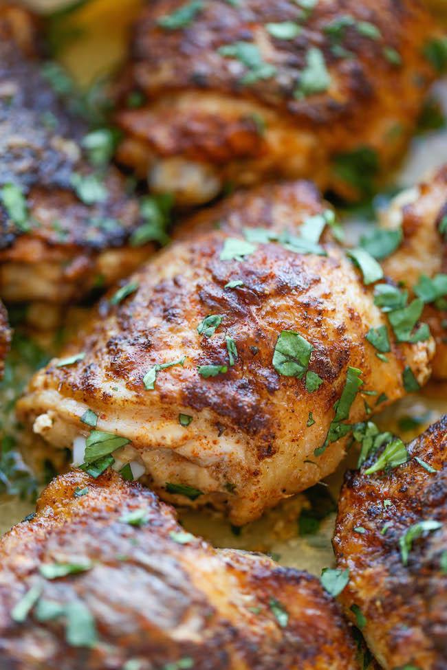 Southwest Buttermilk Baked Chicken Damn Delicious