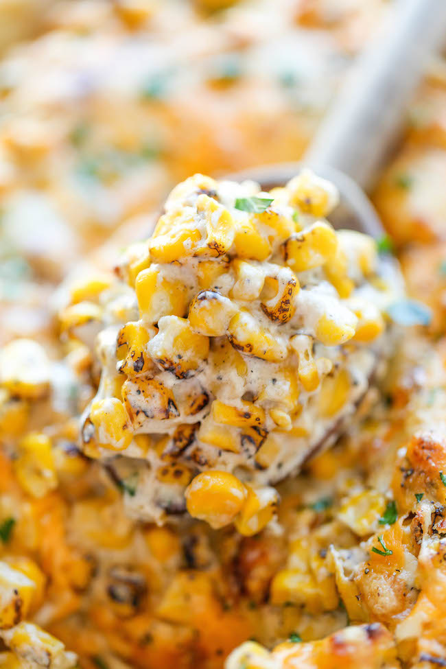 Easy Creamed Corn - The creamiest, most amazing creamed corn you will ever have - and it's so easy to make, it's practically fool-proof!