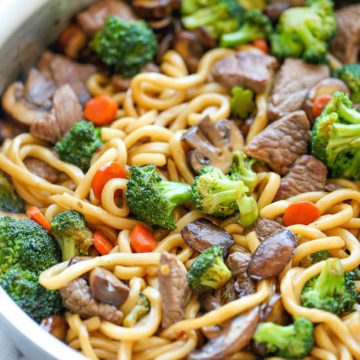 Beef Noodle Stir Fry Damn Delicious