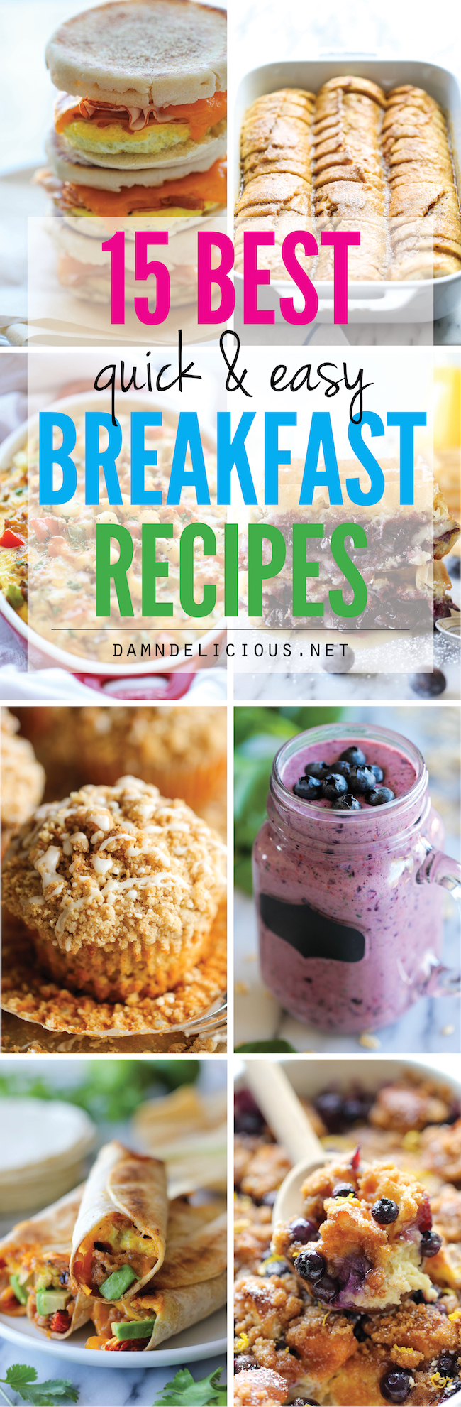 15 Best Quick And Easy Breakfast Recipes Damn Delicious