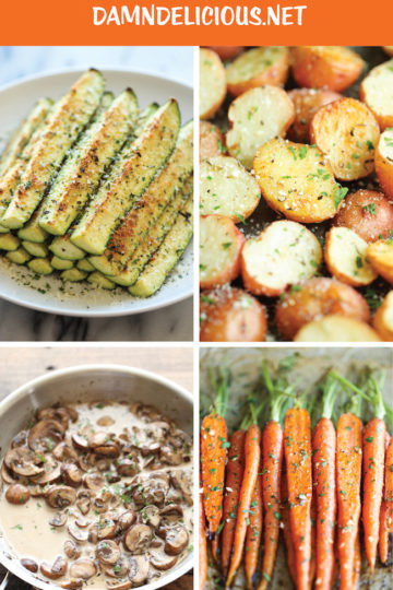 15 Quick and Easy Vegetable Side Dishes - Damn Delicious