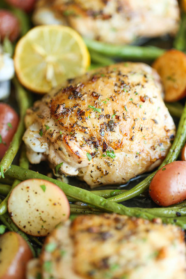 One pan greek chicken damn delicious forumfinder Choice Image