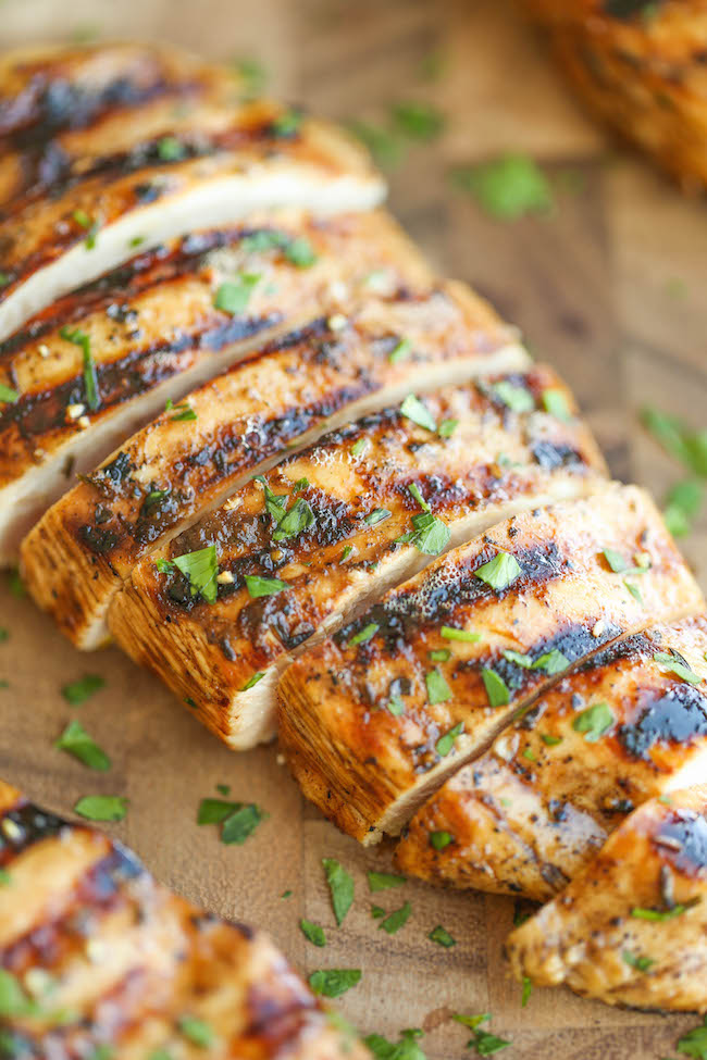Easy grilled chicken damn delicious easy grilled chicken the best and easiest marinade ever no fuss and packed forumfinder Choice Image