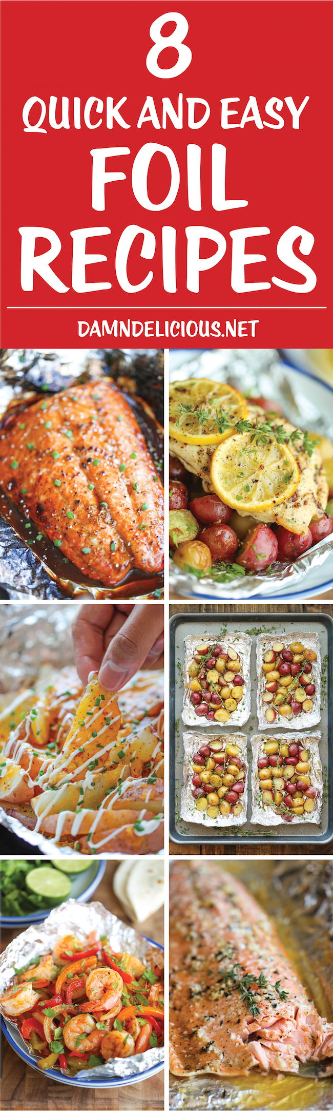 8 Quick And Easy Foil Recipes