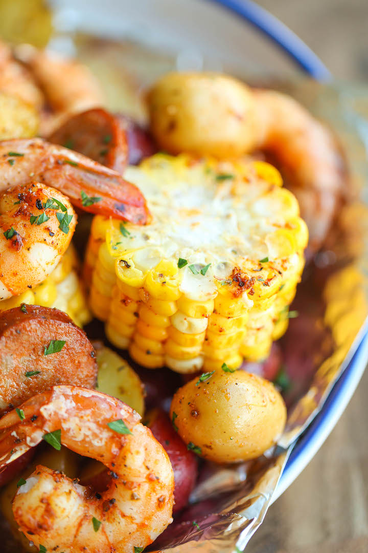 Shrimp Boil Foil Packets | Incredible Campfire Recipes You'll Want To Cook Every Day