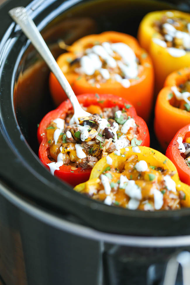 Stuffed Peppers | Spring Recipes For The Homesteading Cook