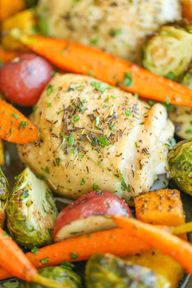 recipe: roasted drumsticks and vegetables [38]