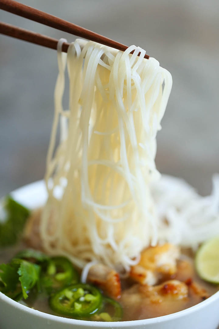 Cheater Pho (Asian Noodle Soup) - With this simplified version, you can have homemade pho on your table in 30 min or less. It doesn't get any easier!