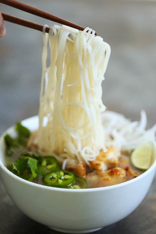 Cheater Pho Asian Noodle Soup