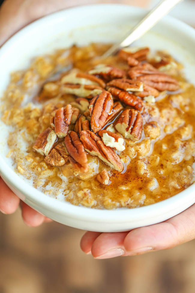 Pumpkin Pie Oatmeal | Cook These Healthy Oatmeal Recipes! And Be A Better Version of You!