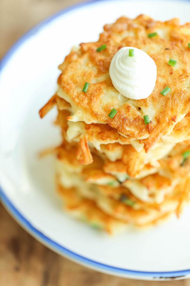 Easy Potato Pancakes Damn Delicious