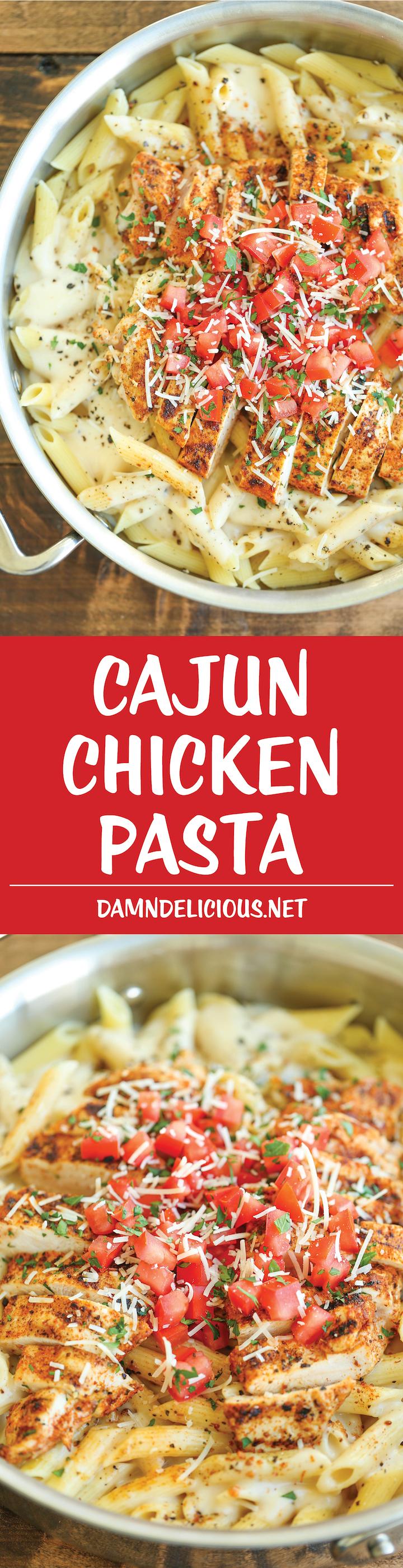 Cajun Chicken Pasta Damn Delicious