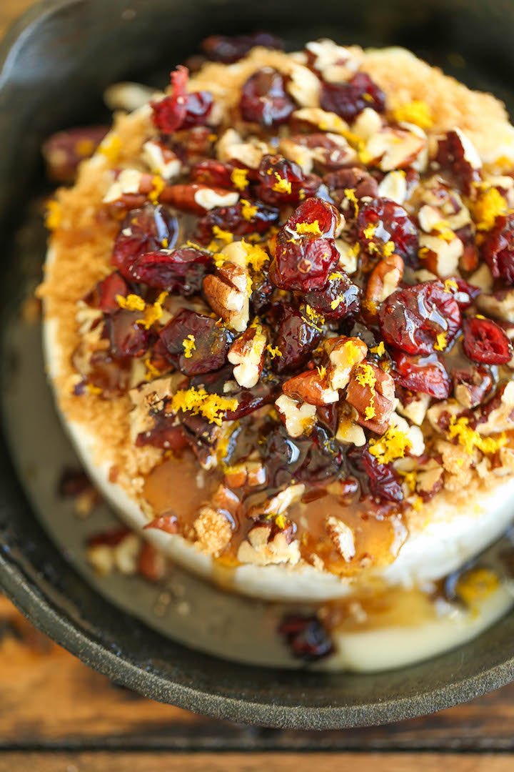 cranberry pecan baked brie simple elegant and an absolute crowd pleaser best - Best Christmas Appetizers