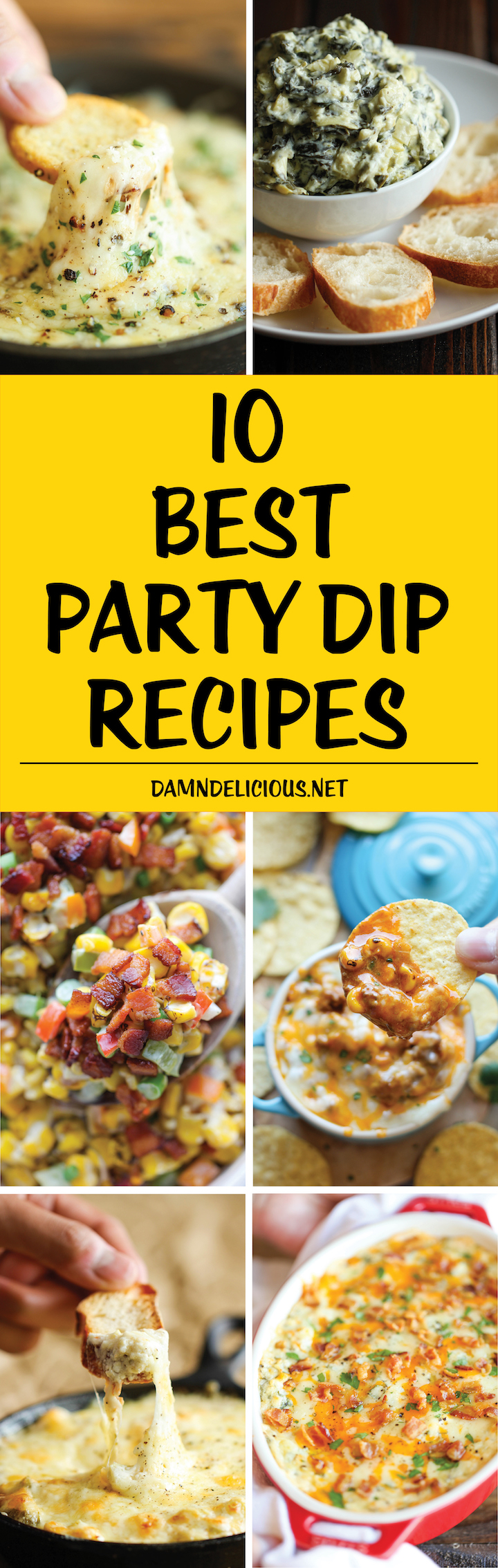 10 Best Party Dip Recipes Damn Delicious