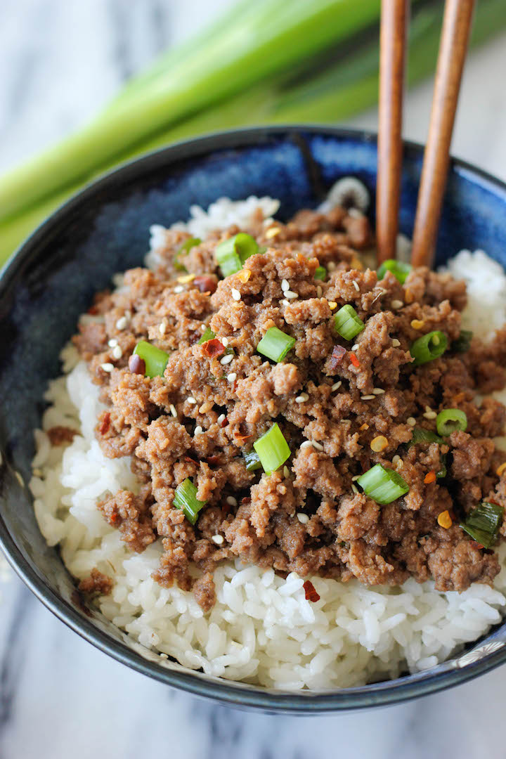 10 go to ground beef recipes damn delicious korean beef bowl tastes just like korean bbq and is on your dinner table in forumfinder Images