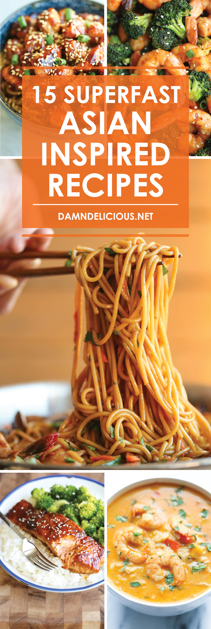 15 Superfast Asian Inspired Recipes Damn Delicious