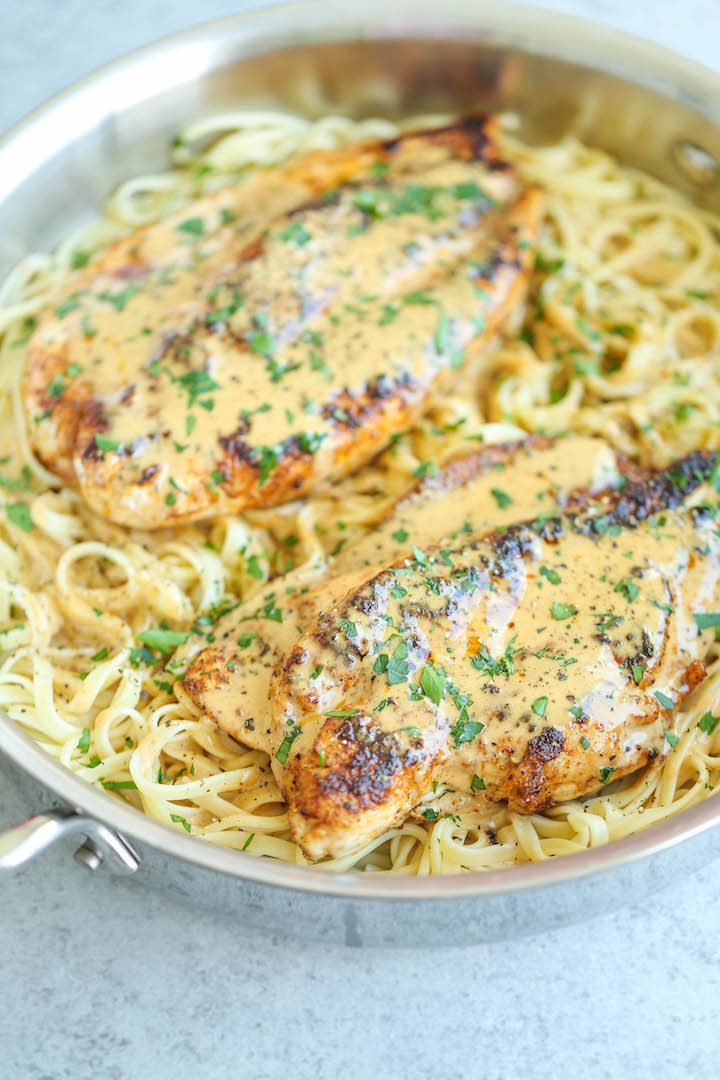 10 weeknight chicken breast recipes damn delicious chicken lazone chicken breasts pan fried in butter and a homemade seasoning mix with forumfinder Choice Image