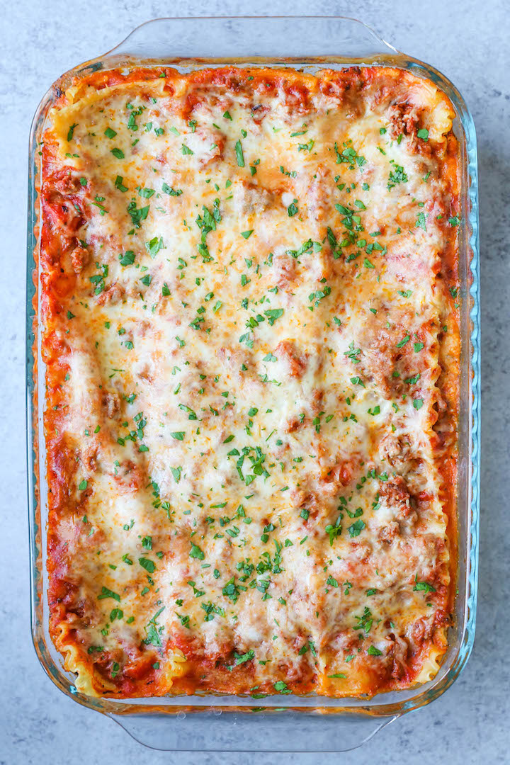 Easiest Lasagna Ever Damn Delicious