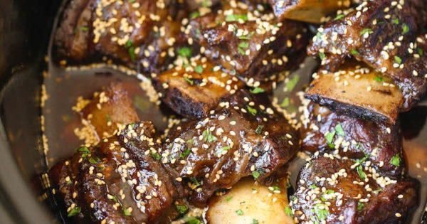 Easy bbq beef short ribs slow cooker