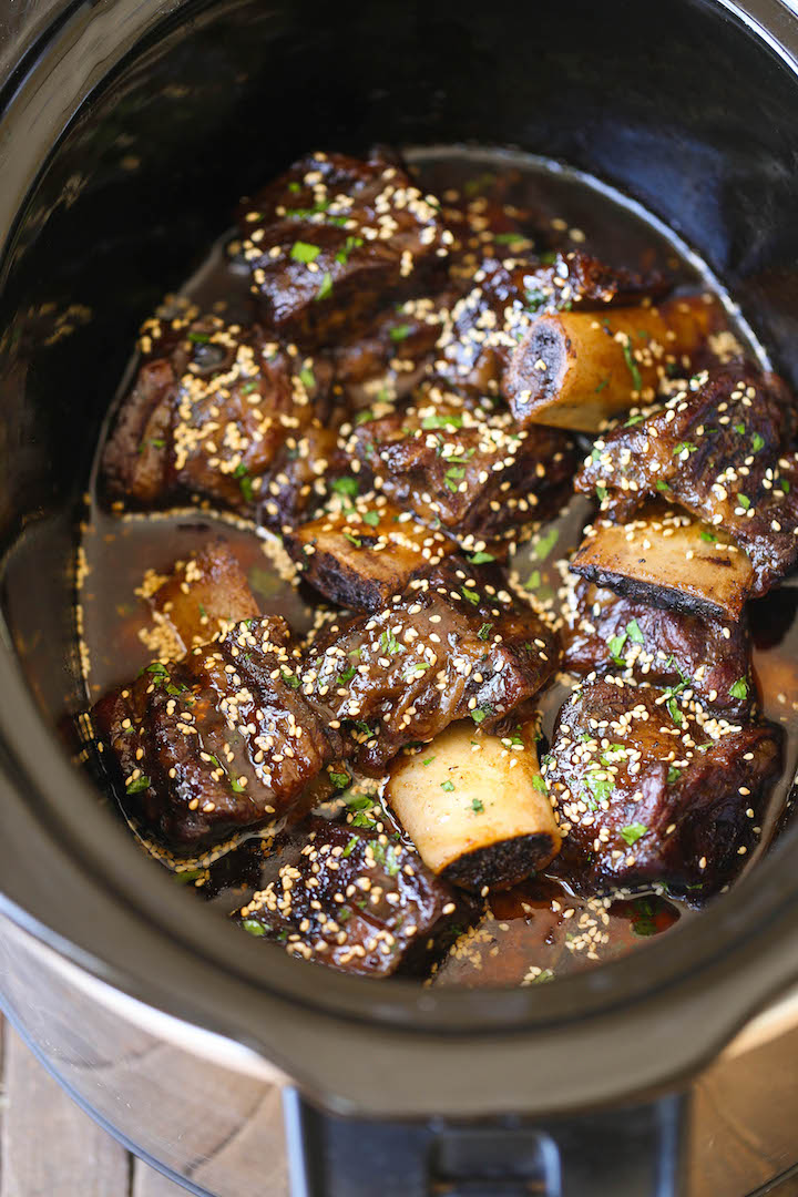 Slow cooker asian short ribs damn delicious forumfinder Choice Image